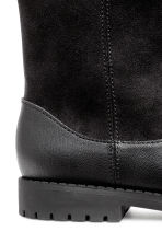 Warm-lined boots - Black - Kids | H&M 4